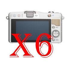6 PZ PELLICOLA PROTEZIONE DISPLAY Olympus PEN mini E-PM2 PROTEGGI SCHERMO LCD