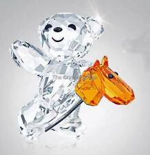 SWAROVSKI CRYSTAL SCS 2014 KRIS BEAR LET'S RIDE 5098309 MINT BOXED RETIRED