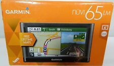 Garmin nuvi 65LM GPS Spoken Driving Directions Maps Travel Road Trips Vacation