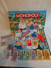 Monopoly FAMILY GUY Collectors Edition 2012 Hasbro PEWTER TOKENS USA