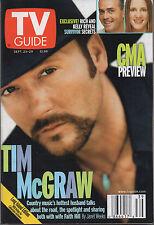 2000 TV GUIDE Tim McGraw Sept 23-29