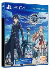 Sword Art Online Hollow Realization PS4 Game (English) with Bonus DLC BRAND NEW