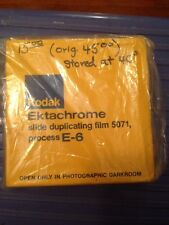 New Unopened Kodak Ektachrome Slide Duplicating Film 5071 Process E-6 Expired