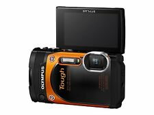 Olympus TG-860 Tough Waterproof 16.0-MP Digital Camera 3-Inch LCD - Orange