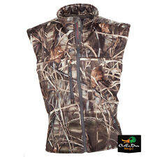 BANDED GEAR ATCHAFALAYA HUNTING VEST WIND PROOF FLEECE LINED MAX-4 CAMO LARGE
