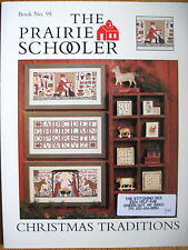 "The Prairie Schooler ""CHRISTMAS TRADITIONS"" ~BOOK NO. 95 Cross Stitch Pattern"