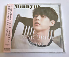 BTOB Dear Bride Japan Press CD Member Version - Minhyuk Sealed K-Pop