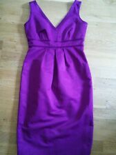 BNWT M&S 'Autograph' Purple Shift Dress Size 10 £49.50