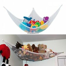 Toy Hammock Net Stuffed Jumbo Animals Organize Storage Organizer Kids Toys ESY1