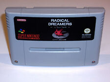 RADICAL DREAMERS - PAL IN ENGLISH GAME - SUPER NINTENDO SNES - CHRONO TRIGGER