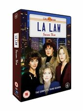 L.A. Law . The Complete Season 3 Three . Staffel . LA . 5 DVD . NEU