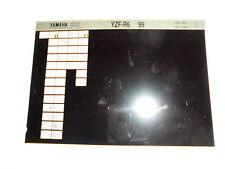 Yamaha YZF-R6 Bj. 1999 Microfilm Microfiche Catalogo ricambi Pezzi di ricambio