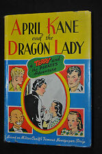 April Kane and the Dragon Lady Terry & The Pirates H/C VG+ Milton (1942) ITB WH