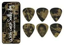 Jimi Hendrix Guitar Picks Collectible West Coast Seattle Boy with Picks Dunlop