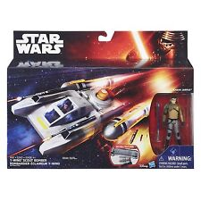 Star Wars The Force Awakens 3.75-Inch Scale Vehicle - Y-Wing Scout Bomber