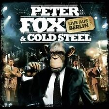 PETER FOX & COLD STEEL-LIVE AUS BERLIN  CD + DVD NEW+