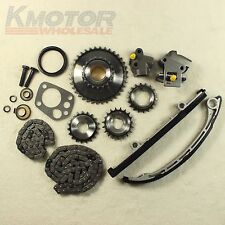 New Engine Timing Chain Kit For Nissan Xterra Altima Frontier 2.4L 98-04 KA24DE