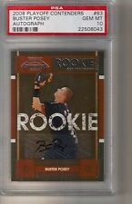 2008 Playoff Contenders Buster Posey Rookie Auto Autograph PSA 10 Gem Mint
