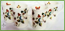 Strawberries & Butterflies Fine Bone China Mugs Set of Six