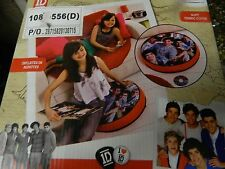 One Direction 1D Inflatable Floor Cushion Cover with Harry Niall Louis Zayn Liam