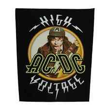 AC/DC Backpatch 'High Voltage' Rückenaufnäher acdc ♫ Heavy Metal ♪ Blues Rock ♫
