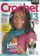 INSIDE CROCHET,  ISSUE, 2012  ( LEARN HOW TO CROCHET TODAY ! * DORA' SWEINERS )