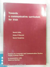 TOWARD A COMMUNICATIVE CURRICULUM FOR IRISH Little Murchu Singleton 1986 libro