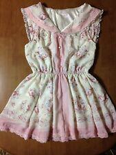 LIZ LISA Pink Tunic Dress Sailor Bandanna
