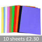EVA Funky Foam Sheets. A4 Mixed Colours Crafts