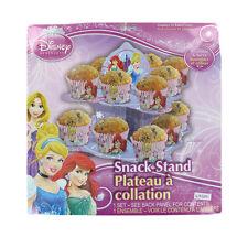 Disney Princess 2 niveles snack/cupcake Stand Fiesta De Cumpleaños Decoración de Mesa