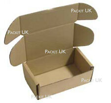 """50 Postal Storage Cardboard Boxes 6 x 3.5 x 2.5"""" S/W"""