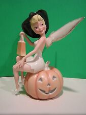 LENOX TINK'S HALLOWEEN TREATS Tinker Bell Witch figurine NEW in BOX with COA