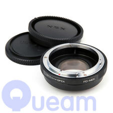 Speed Booster Focal Reducer Adapter Suit For Canon FD Lens to Sony E Mount NEX