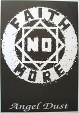 "FAITH NO MORE  POSTER  ""LOGO"""