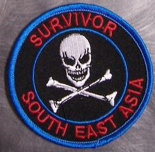 Embroidered Military Patch Vietnam South East Asia Survivor NEW