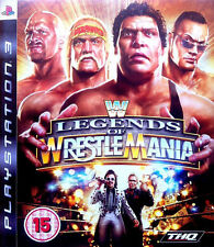 Wwe Legends of WrestleMania (PS3), muy Buen Estado Playstation 3 Video Juegos