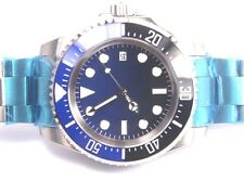 PARNIS D BLUE DEEP SEA DWELLER CERAMIC BEZEL 47MM TO CROWN HEAVY WATCH