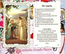 The Angelus - Scalloped trim - Paperstock Holy Card