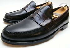 MENS SEBAGO BROWN BLACK PINCH LEATHER PENNY LOAFER CASUAL DRESS SHOES 9.5~1/2 M