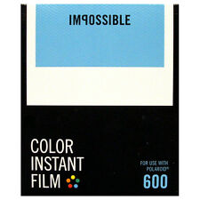 Polaroid 600 type instantanée film/impossible 600 film-nouvelle version