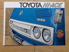 Toyota HI-ACE - PROSPEKT (1976)