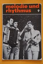 Zeitschrift Melodie und Rhythmus Heft 9 - 1968