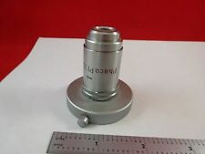 MICROSCOPE PART OBJECTIVE LEITZ PHACO PL 32X OPTICS AS IS BIN#K8-B-09