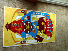 BALLY Supersonic Pinball Machine Playfield Overlay