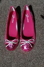 GUESS Fuchsia / White Pumps / Shoes Size UK4 EU37