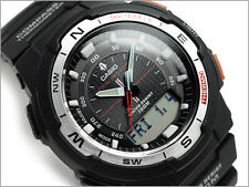 CASIO SGW500H SGW-500H-1B Twin Sensor Compass Thermometer Free Ship