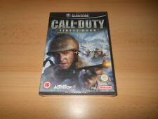 CALL OF DUTY FINEST HOUR NINTENDO GAMECUBE NEW SEALED
