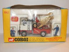 Corgi Major Holmes Wrecker Recovery Vehicle w/ Ford Tilt Cab w/ Box
