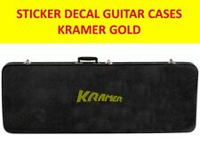 KRAME GOLD STICKER GUITAR CASES VISIT OUR STORE WITH MANY MORE MODELS