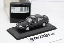 Minichamps 1:43 scale Saab 900 Saloon 1995 - Black (Retired/RARE/9-3)